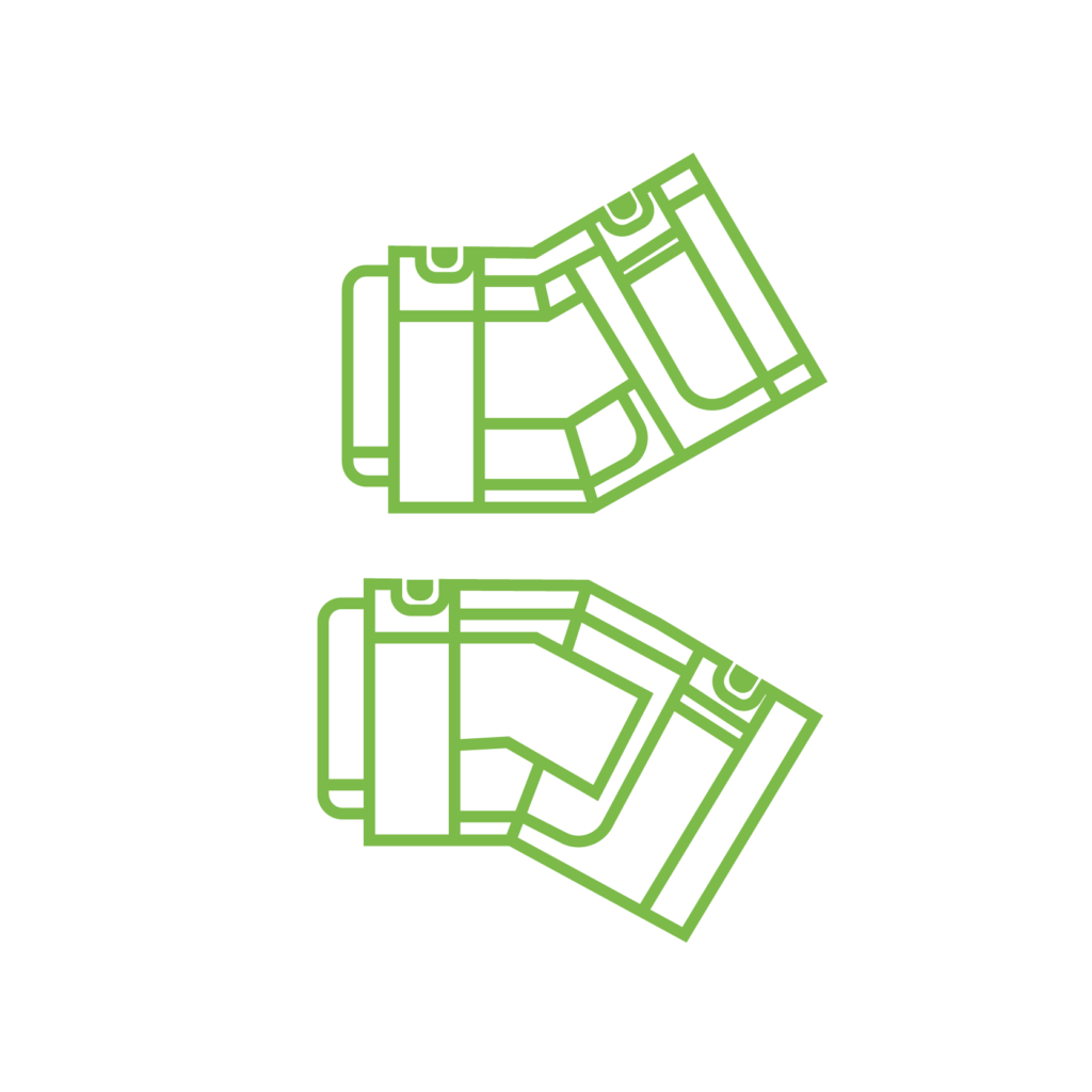 Green Trough Steigungseinheiten (Auf/Ab)