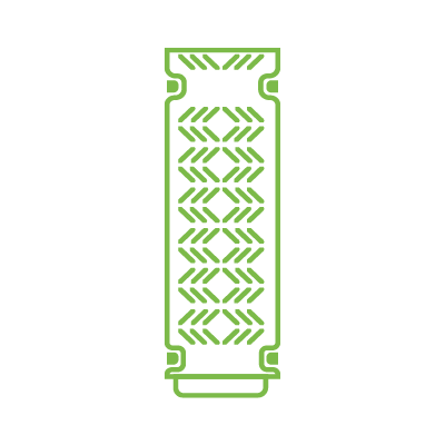 Green Trough Gerade